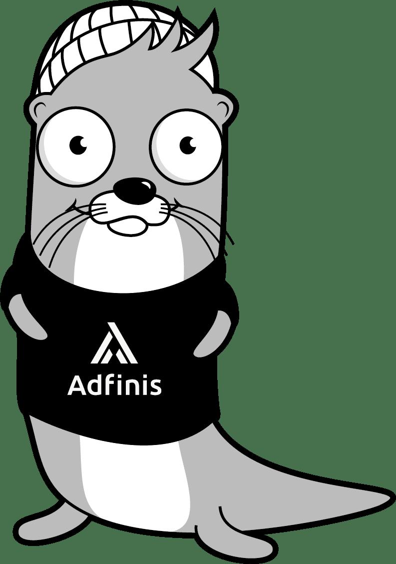adfinis_cd_maskottchen_def_frontal_sw_logo_shirt