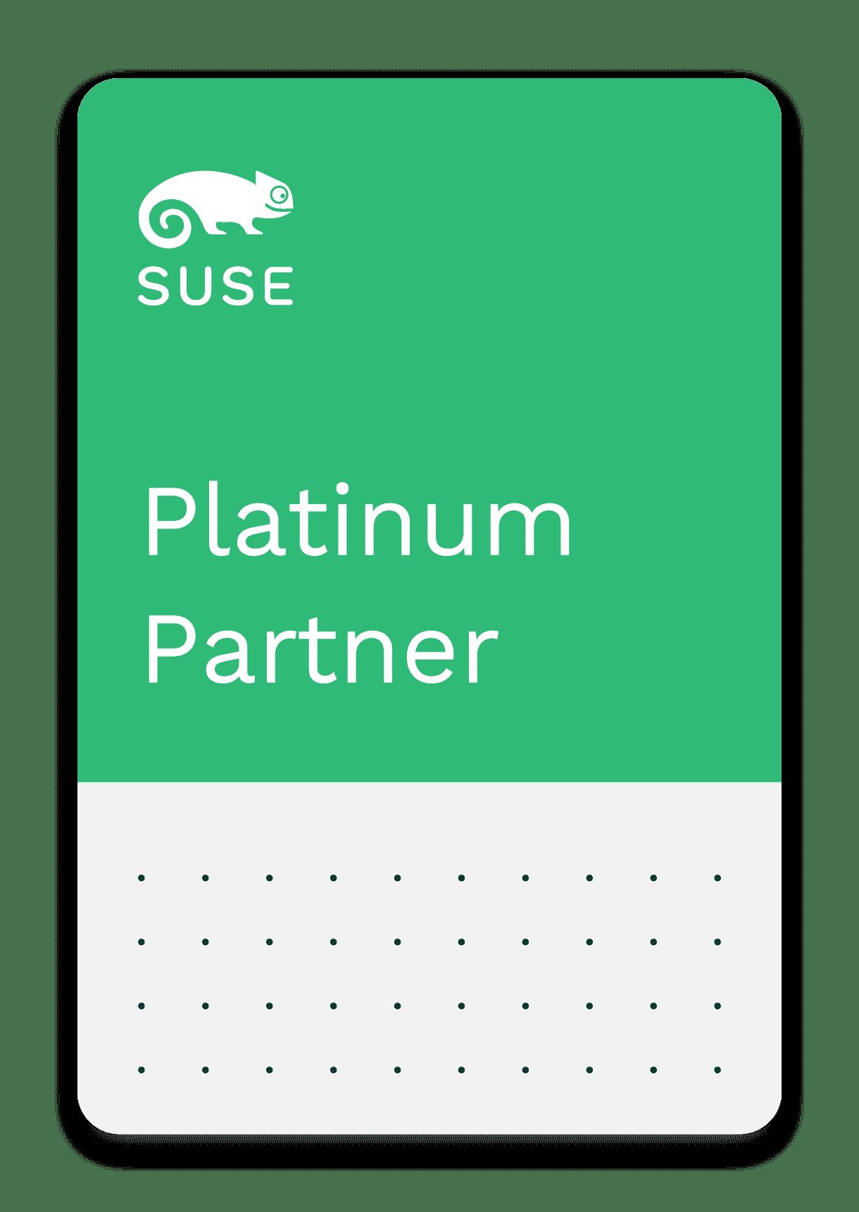 <h5>SUSE</h5> Platinum Partner